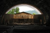 Inside the Passion Play Theatre in Oberammergau