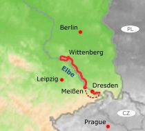 Cycling the Elbe River from Wittenberg to Dresden