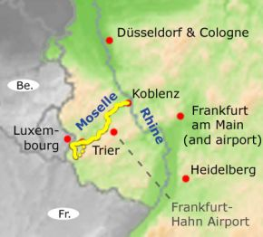 Cycling the Moselle Valley Trier to Koblenz Dates