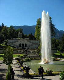 Park at Linderhof Palace