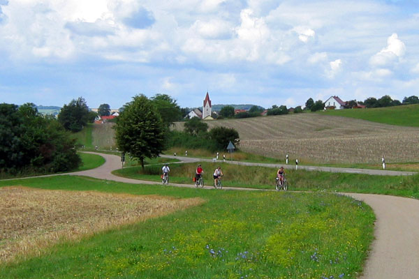 Hassle-free cycling holidays in Bavaria, Germany