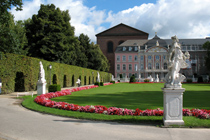 Palace garden of Trier