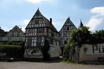 Half-timbered houses in the Moselle Valley