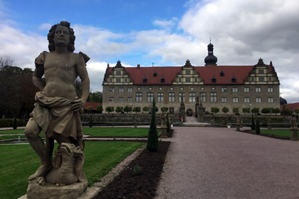 Weikersheim garden and Palace